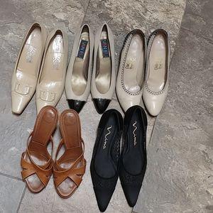 Bundle of shoes.